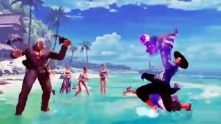 تریلر بازی Street Fighter V کارکتر Urien