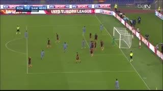 خلاصه بازی: رم 3 - 2 سمپدوریا