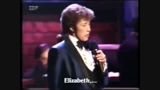 MJ Sings for Elizabeth Taylor on national TV VERY RARE
