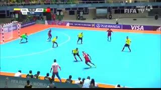 کلمبیا ۱-۱ پرتغال