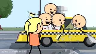 انیمیشن  (خل و چل ها) این قسمت (بعضی پسر ها)