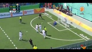 پارالمپیک ریو: خلاصه فوتبال ۵ نفره برزیل ۰-۰ ایران