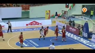 خلاصه بسکتبال آسیا چلنج: ایران ۶۸-۵۷ ژاپن