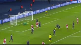 خلاصه بازی: پاریسن ژرمن 1 - 1  آرسنال
