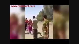 یکی از عناصر نفوذی داعش خود را بین آوارگان منفجر میکند