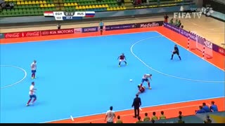 مصر ۱-۶ روسیه