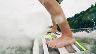 موجسواری با پهپاد /رسانه تصویری وی گذر