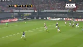خلاصه بازی: فاینورد 1 - 0  منچستریونایتد
