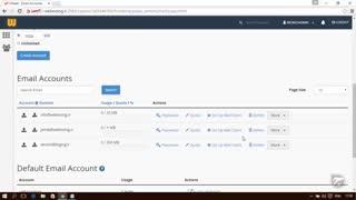 آموزش Cpanel - قسمت 29 حساب های ایمیل Email Accounts