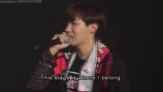 [ENG SUB] J-HOPE can't stop crying while he thanks his family and BTS fans [PART 5]