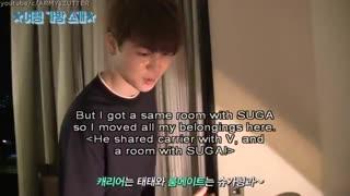 [ENG SUB] Visit BTS's bedrooms - BTS shows off their stuff [PART 6]
