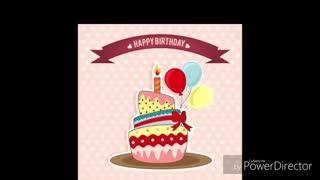 Happy birthday (  تقدیم به آبجی فاطمه)