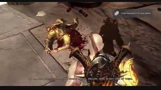 مرگ هلیوس، خدای خورشید در بازی god of war 3