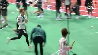 [BANGTAN BOMB BTS' Relay race @ 2016 추석특집 아육대