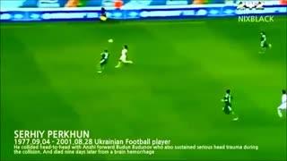 مرگ فوتبالیست ها در زمین فوتبال (تکان دهنده)