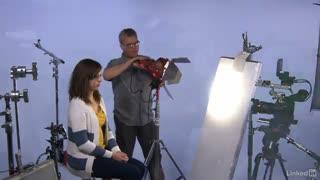 آموزش نورپردازی با LED در یک پروژه فیلم سازی