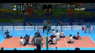 خلاصه فینال والیبال پارالمپیک ریو: ایران ۳-۱ بوسنی (قهرمانی در پارالمپیک ریو)