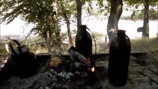 کلبه جنگلی میرزا عابدین -شموشک استان گلستان