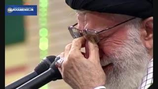 عمهی سادات میخواند مرا |مداحی آهنگران در حضور رهبر انقلاب