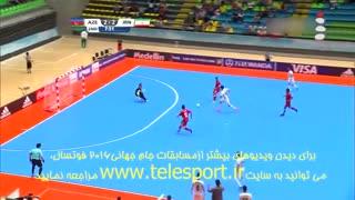 جام جهانی فوتسال؛ ایران 3 - آذربایجان 3