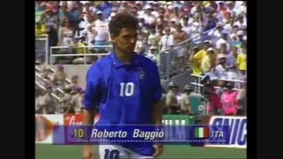 پنالتی از دست رفته روبرتو باجو در فینال جام جهانی 94 / رسانه تصویری وی گذر