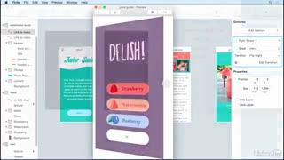 آموزش طراحی UX با نرم افزار Flinto