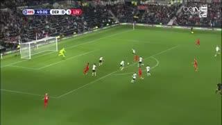 خلاصه بازی: دربی کانتری 0 - 3  لیورپول