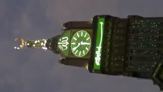 بلندترین برج ساعت جهان در مکه مکرمه