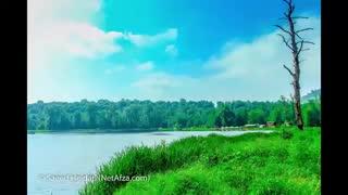تایم لپس از دریاچه زیبای  الندان / رسانه  تصویری وی گذر