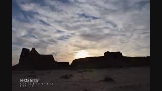 تایم لپس شهر باستانی دامغان / رسانه تصویری وی گذر