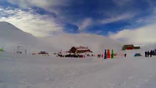 تایم لپس زیبایی از منطقه اسکی توچال / رسانه تصویری وی گذر