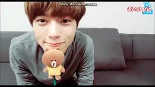 [ENG Sub] INFINITE L /Kim Myungsoo's Talk on Vlive 160919