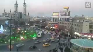 تایم لپس غروب شهر مشهد