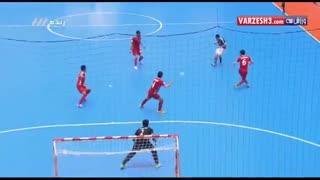 خلاصه فوتسال:  ایران 4 - 3  پاراگوئه