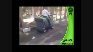 سوییپر(جارو)-سوییپر(جارو)صنعتی- نظافت صنعتی-فلامک ماشین