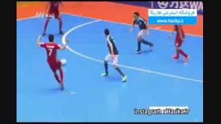 خلاصه بازی فوتسال ایران ٤-پاراگوئه ٣