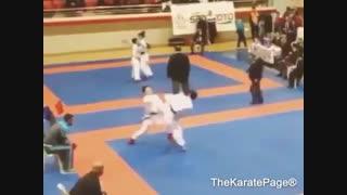 کاراته یعنی مبارزه بادست خالی✔✔✔