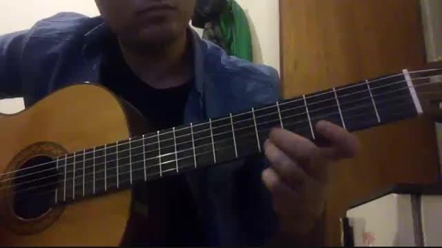 دختر بندری از شهرام کاشانی گیتار