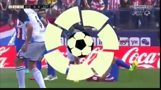 اتلتیکو مادرید ۱-۰ دیپورتیوو لاکرونیا