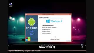 آموزش نصب ویندوز بر روی دستگاه های اندرویدی