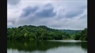 تایم لپس الیمالات، دریاچه ای زیبا در دل جنگل