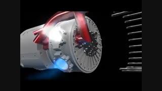 Russian Rotary Vane Engine
