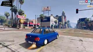 مد ماشین پراید در بازی GTA V