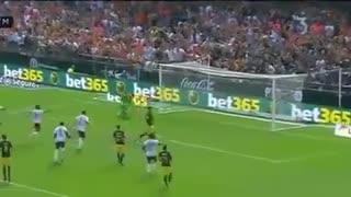 خلاصه بازی والنسیا 0 - 2  اتلتیکو مادرید ( امروز )
