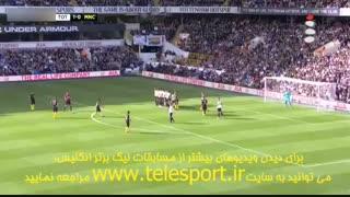 لیگ برتر انگلیس؛ تاتنهام ۲ - منچستر سیتی ۰