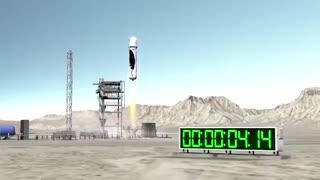 مأموریت فضایی امروز Blue Origin با انفجار عظیمی همراه خواهد بود
