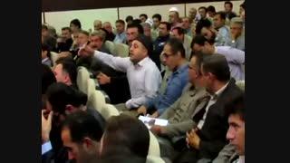 اعتراض یک ماموستا  اهل سنت مریوان به استاندار کردستان