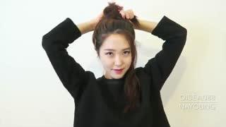 یه مدل موی کره ای پرطرفدار و ساده♡.♡
