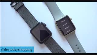 مقایسه اپل واچ سری یک و دو
