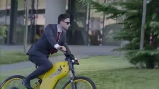 این دوچرخه هیبریدی با هر بار شارژ مسافتی ۲۴۰ کیلومتری را طی می کند